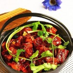 豆干排骨烧(荤菜)