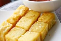 油炸豌豆凉粉