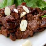 烤牛肉(荤菜)