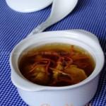 虫草花瘦肉汤(荤菜)