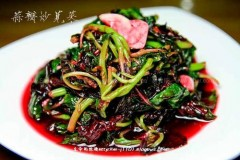 蒜瓣炒苋菜