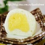 奶黄包(早餐食谱-关键是做好奶皇馅-奶皇包)