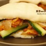 脆香烤鸡荷叶饼(早餐食谱)