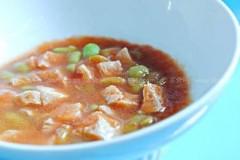 西红柿双豆浓汤