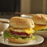 牛肉汉堡包(早餐菜谱)