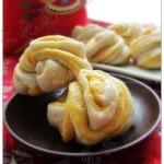 南瓜双色花卷(早餐菜谱)