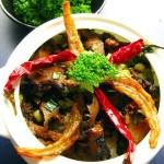 海参焖虾干(海鲜家常菜)
