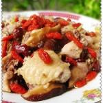 香菇蒸滑鸡(荤菜-居家必备嫩滑美味)