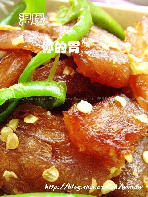辣椒苦槠豆腐
