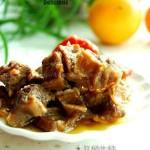 高压锅版胡萝卜焖牛腩(荤菜)