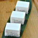 椰汁西米糕(煮西米的小诀窍)
