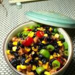豉香鸡米粒(荤菜-适合做盒饭的便当菜)