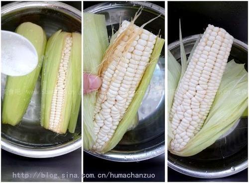 微波爐煮玉米