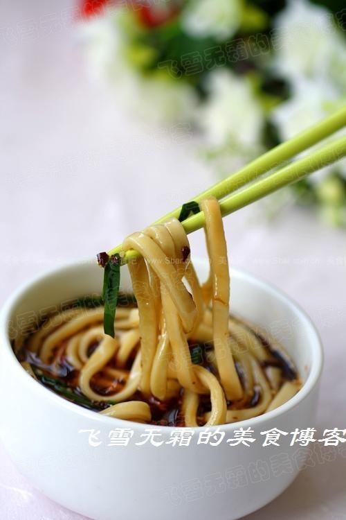 酸辣汤面(菜谱食谱-压面机版)小学生一周早餐v菜谱图片