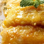橙汁鱼排(荤菜)