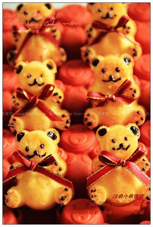 可爱小熊蛋糕
