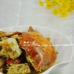 家常炒蟹(海鲜家常菜-图解剪刀拆蟹)