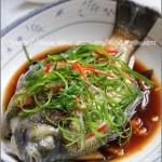 清蒸太阳鱼(海鲜家常菜)