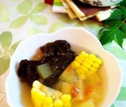 瑶柱瓜皮杂蔬汤