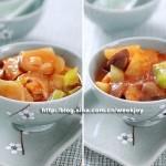 土豆三鲜(土豆香菇炖番茄)