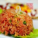 番茄炒饭(早餐菜谱)