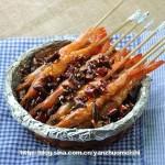 香辣竹签虾(海鲜家常菜-零厨艺也能做好的意头菜)
