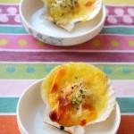 芝士焗扇贝(海鲜家常菜)