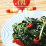 腐乳空心菜(素菜-炒空心菜不黑的小窍门)