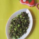 咸菜毛豆子(素菜-夏季菜谱)