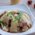 酸笋牛肉(荤菜-如何炒牛肉嫩滑不老)