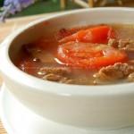 番茄燉牛腩(葷菜)