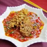 茄汁菊花魚(葷菜-草魚)