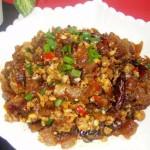 香辣蹄筋(早餐菜谱)