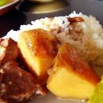 蘑菇酱炖牛肉(荤菜)