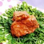 玫瑰腐乳鱼排(荤菜)