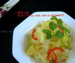 白灼园白菜