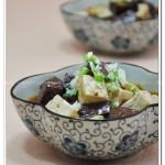 豆腐炖鸭血(荤素搭配-双色豆腐)