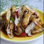 辣炒蛏子(海鲜家常菜)