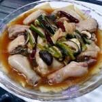 蒸鸡(荤菜)