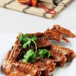香辣卤鸭翅(荤菜)