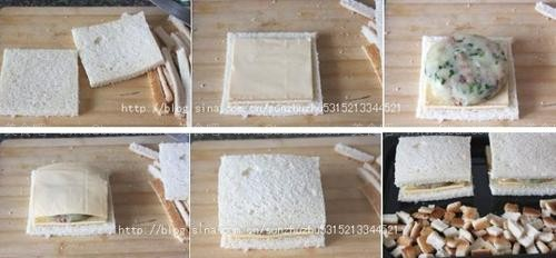 奶酪土豆三明治