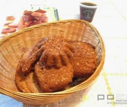 枫糖麦片饼
