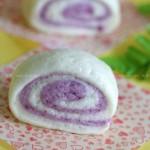紫薯双色馒头(早餐菜谱)