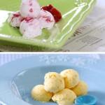 樱桃冰淇淋和芒果冰淇淋(自制甜品)