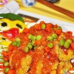 浇汁鳕鱼(海鲜家常菜)