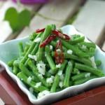 炝拌豇豆(素菜)