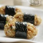 培根饭团(早餐菜谱-炒米饭的吃法)