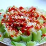 剁椒蒸丝瓜(素菜)