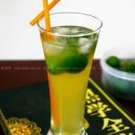 冰桔茶(自制饮料-时下餐厅最流行的饮料)