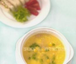 玉米火腿浓汤